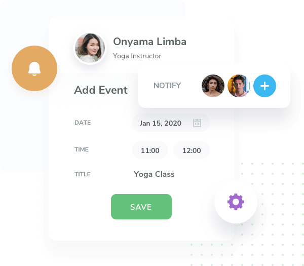 Customize your task manager to organize staff members.